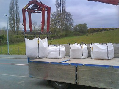How to lift a builders Bulk Bags